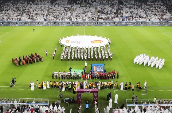 Tradition and innovation come together as striking Al Janoub Stadium in Al Wakrah City is opened